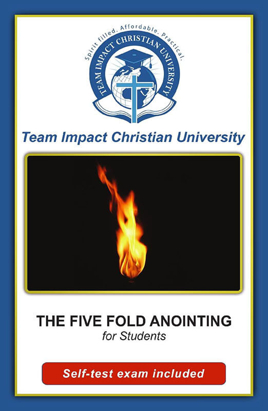 Five Fold Anointing